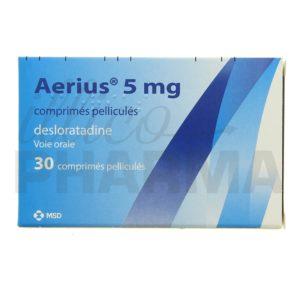 Antihistaminique sans ordonnance : où acheter Aerius en